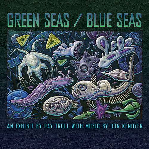 Green Seas / Blue Seas CD Cover