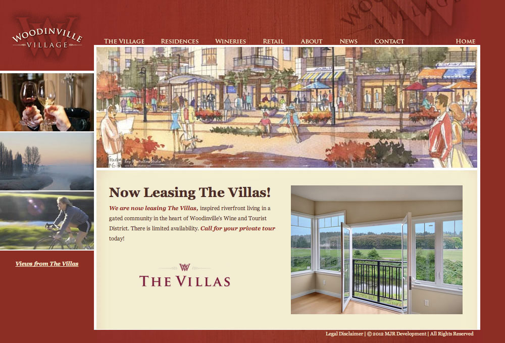 Woodinville Village Home Page