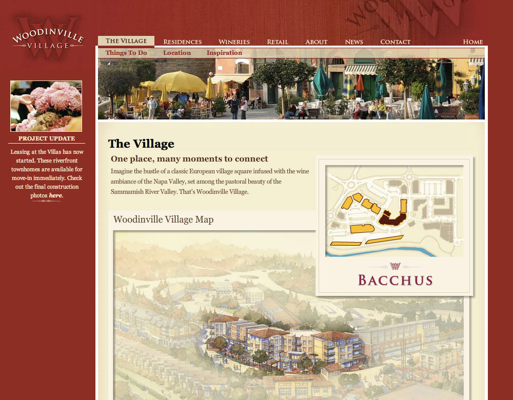 Woodinville Village - The Village Page