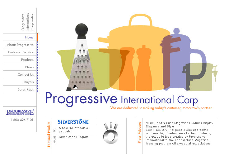 Progressive International Website